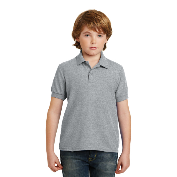 Gildan Youth DryBlend 6.5-Ounce Double Pique Sport Shirt