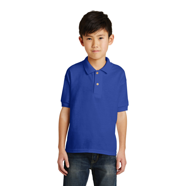 Gildan Youth DryBlend 6-Ounce Jersey Knit Sport Shirt