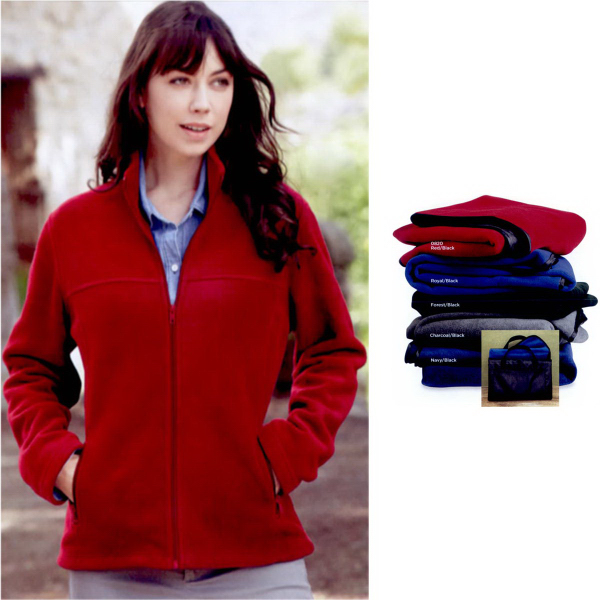 Colorado Clothing Women's Sport Fleece Full-Zip Jacket