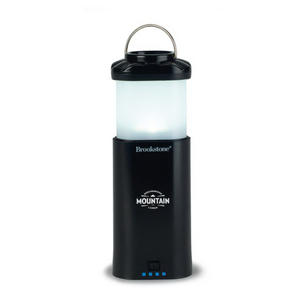 Brookstone (R) Power Bank Lantern w/ Flashlight - 7800 mAh
