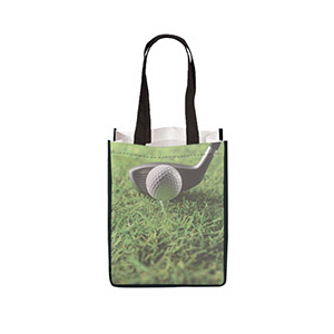 E-Z Import (TM) Medium Sublimated Non-Woven Tote