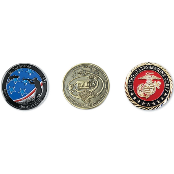 Iron Die Struck Challenge Coin