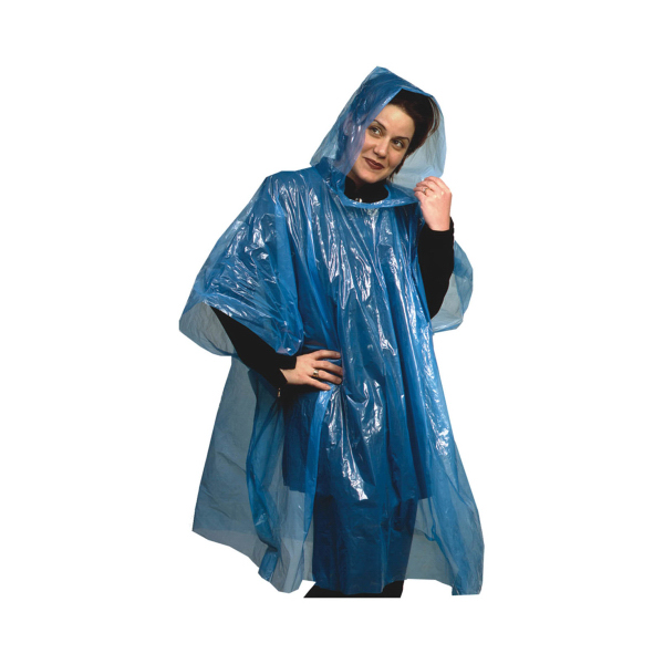 Emergency Rain Poncho - Full color Insert