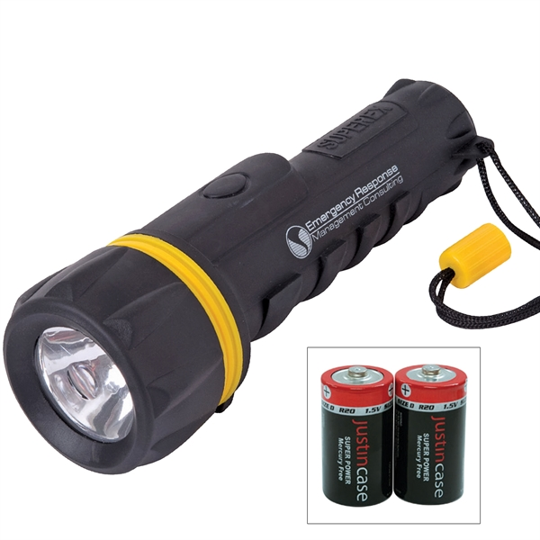 Rubberized Flashlight