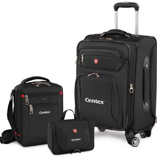 Identity 3 Piece Carry On Luggage Set