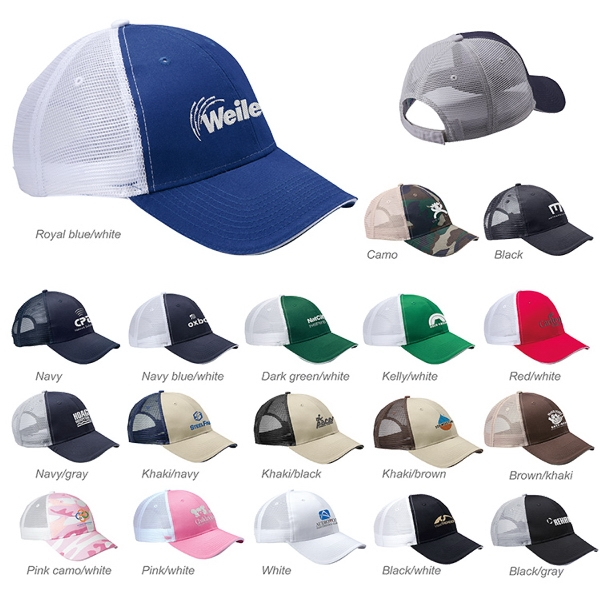 Valucap Sandwich Trucker Cap