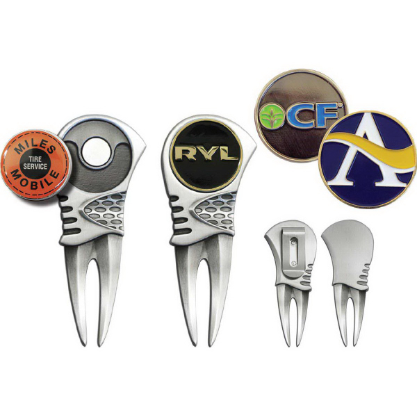 Alpine Divot Tool with Die Struck Ball Markers