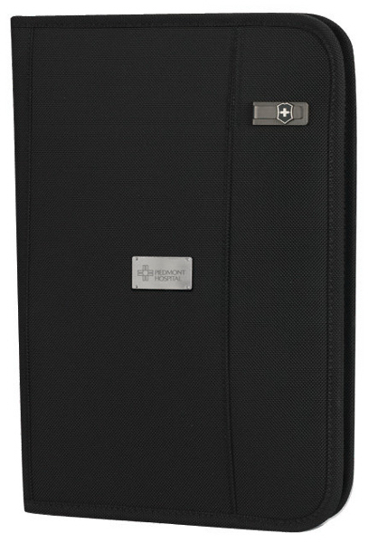 Wright Zippered Padfolio with Notepad