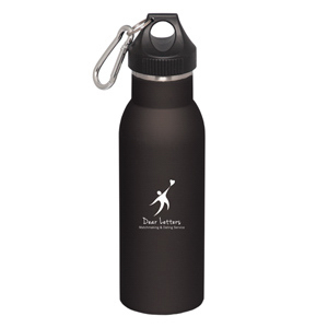 500 mL. (17 oz.) Double Walled Stainless Steel Bottle