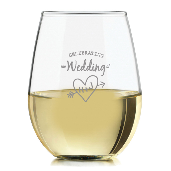 12 oz Stemless Wine Glass on special