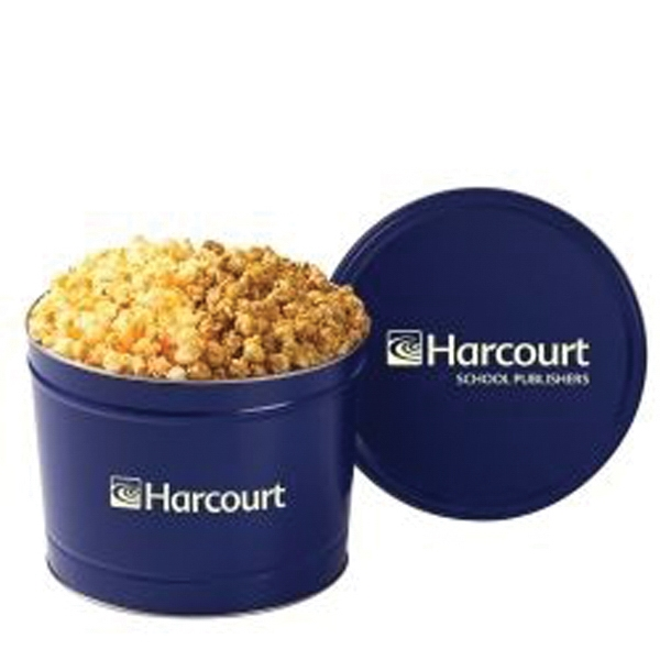 2 Way Popcorn Tin / 2 Gallon