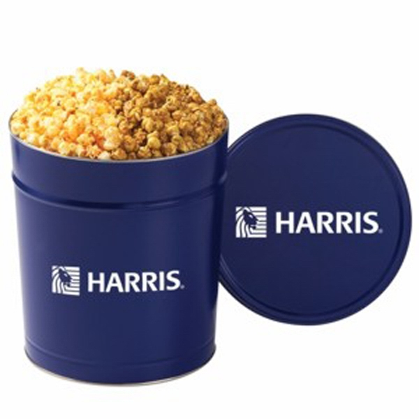 2 Way Popcorn Tin / 3.5 Gallon