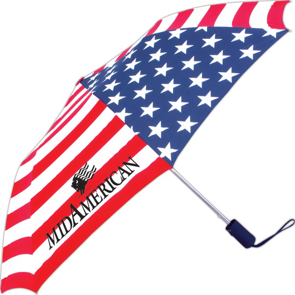 American Flag Folding Collection Umbrella