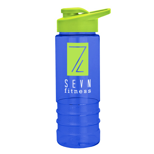 Salute2 - 22 oz. Tritan Bottle with Drink-Thru Lid