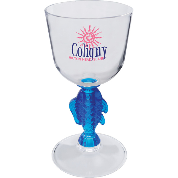 7 oz. Novelty Stem Wine Glass