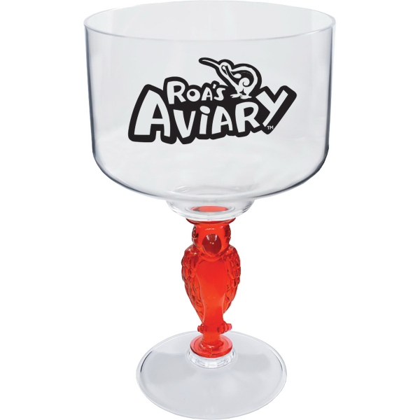 18 oz. Novelty Stem Margarita Glass