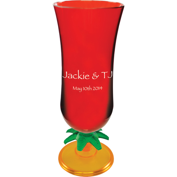 15 oz. Novelty Stem Hurricane Glass