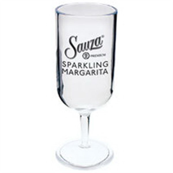 2 oz. Plastic Champange Sampler Glass