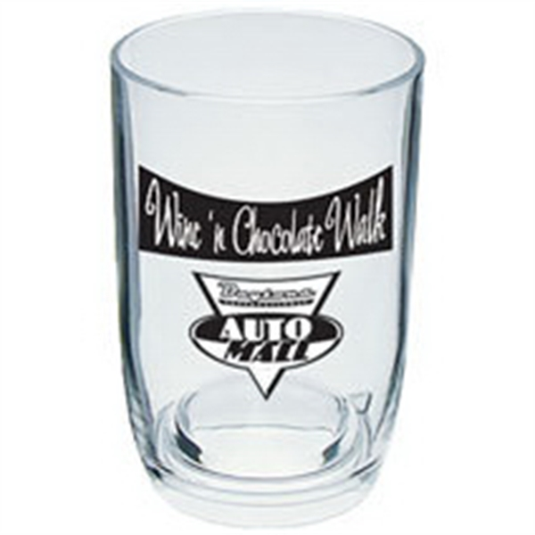3 oz. Plastic Stemless Wine Sampler Glass