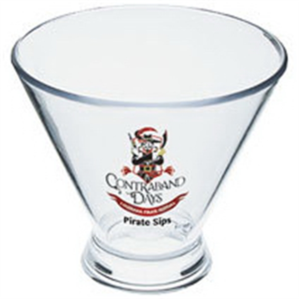 3 oz. Plastic Stemless Martini Sampler