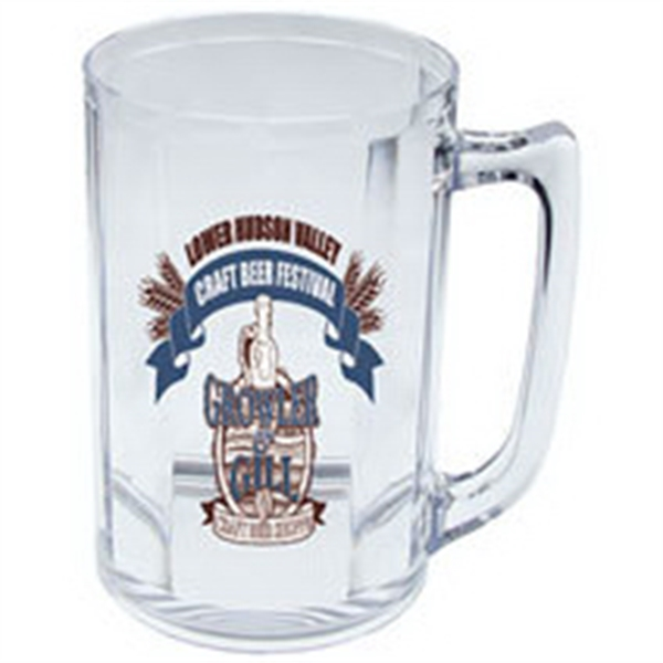 5 oz. Clear Plastic Beer Mug Sampler