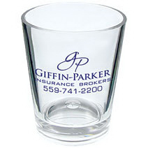 1.25 oz. Clear Plastic Shot Glass