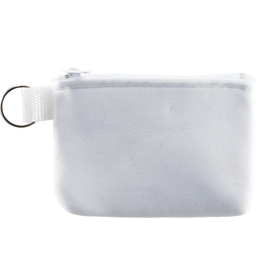 Zip Pouch with Key Ring