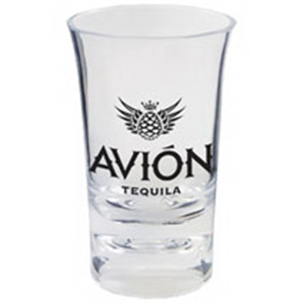 1.5 oz. Clear Heavy Plastic Votive Shooter Shot Glass