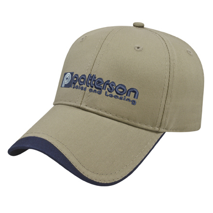 Two-Tone Visor Cap