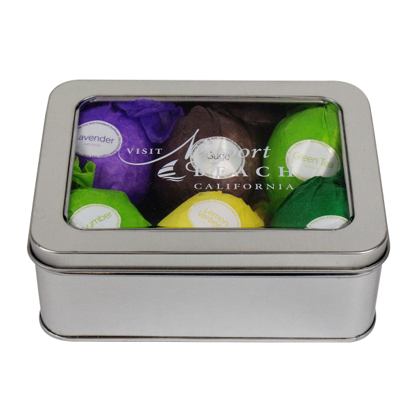 Natural Bath Bomb Set