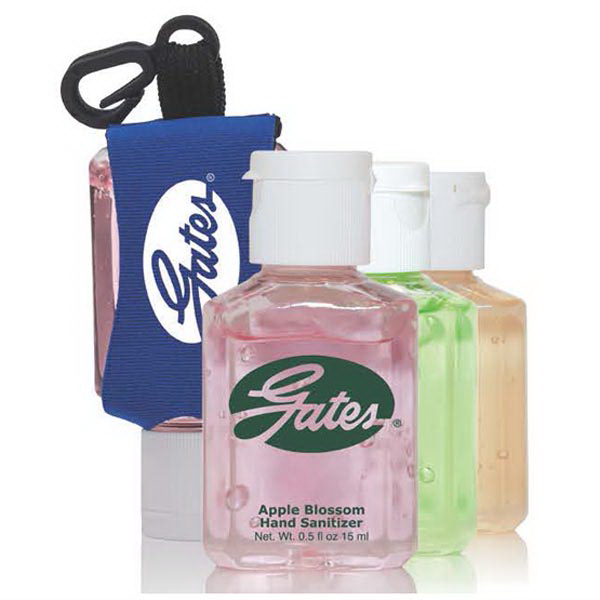 1 oz Scented Hand Sanitizer w/ Custom Imprint and Leash