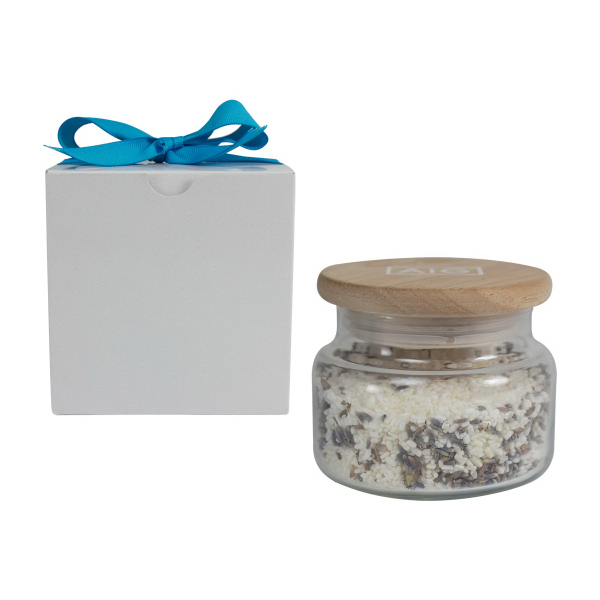 10 oz Natural Bath Salts with Lavender Buds
