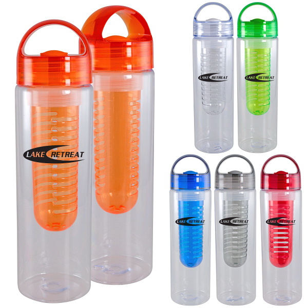 On The Go Water Bottle with Infuser