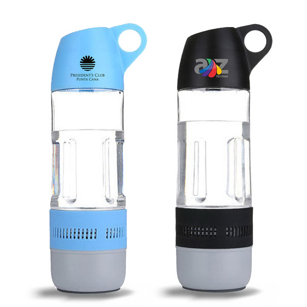 Sport Water Bottle Bluetooth Speaker with Compass