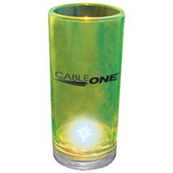 2 oz. Blinking Plastic Shooter Glass