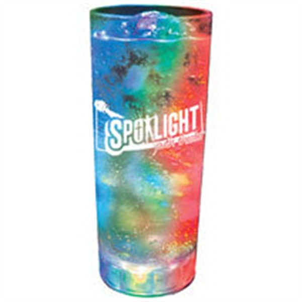 14 oz. Acrylic 3 Light, Light-Up Tumbler
