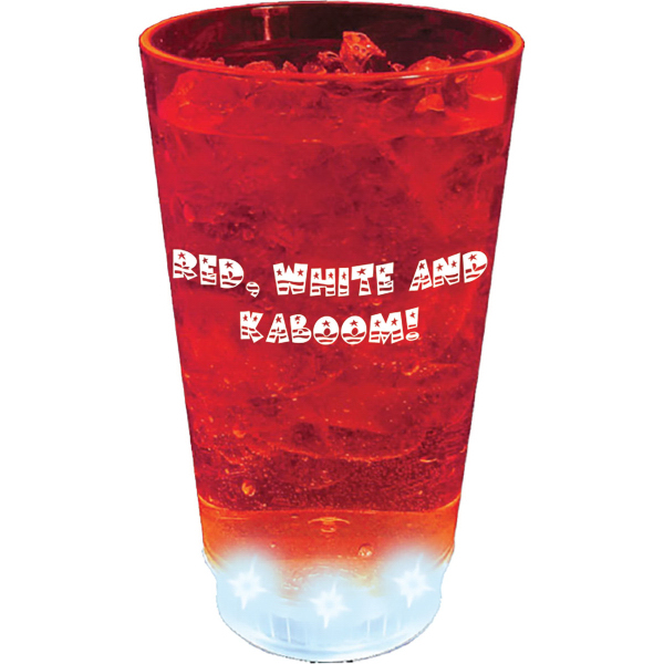 16 oz. Acrylic 5 Light, Light-Up Pint Tumbler