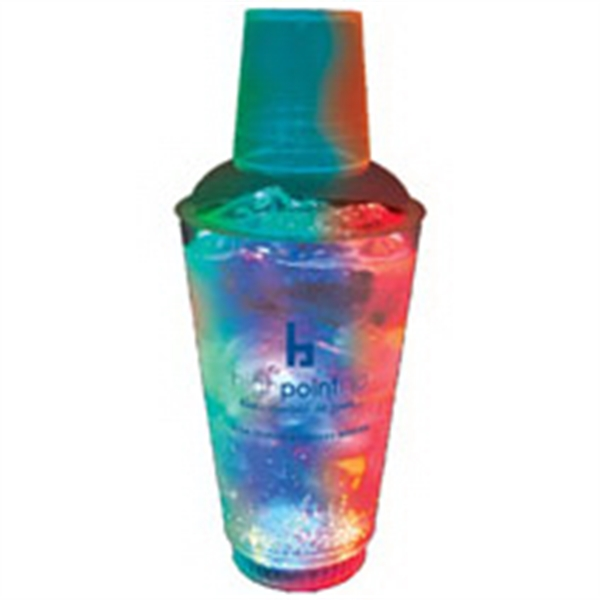 16 oz. Plastic 3 Light, Light-Up Cocktail Shaker