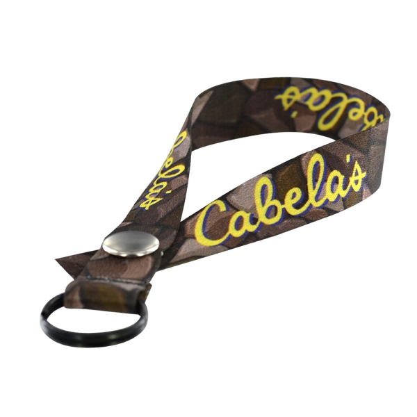 "3/4"" Dye-Sublimated Polyester Accessory Strap"
