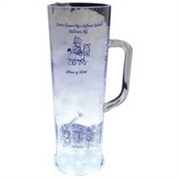 22 oz. Plastic 5 Light, Light-Up Frankfurt Mug