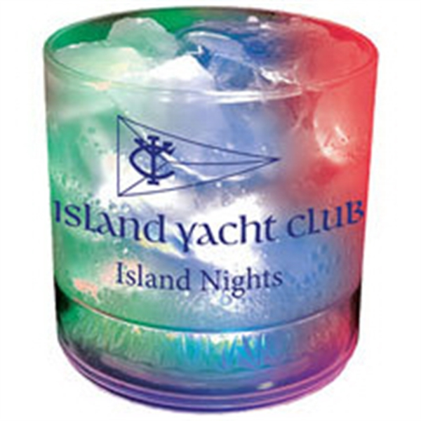 12 oz. Plastic 3 Light, Light-Up Tumbler