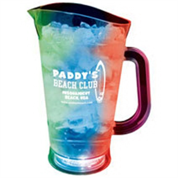 70 oz. Plastic 3 Light, Light-Up Pitcher