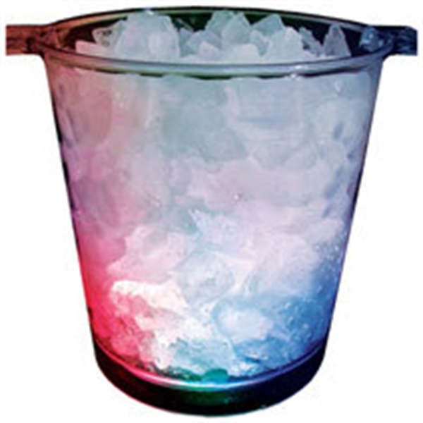 200 oz. Plastic Dome Light-Up Ice Bucket