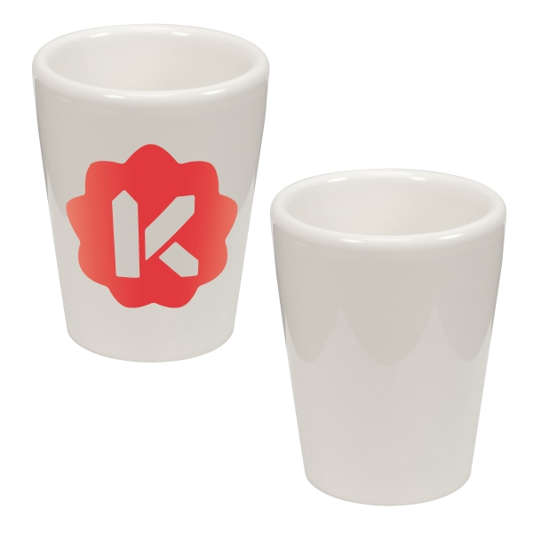 1.5 oz. Ceramic Shot Glass