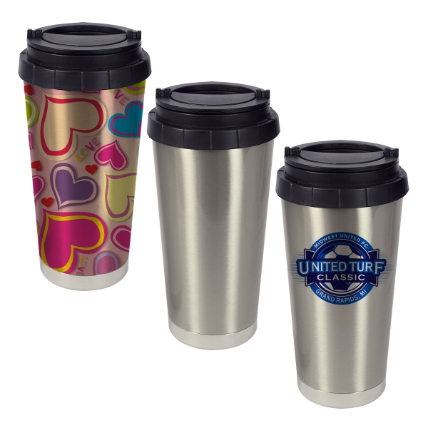 16 oz Stainless Steel Double Wall Thermos