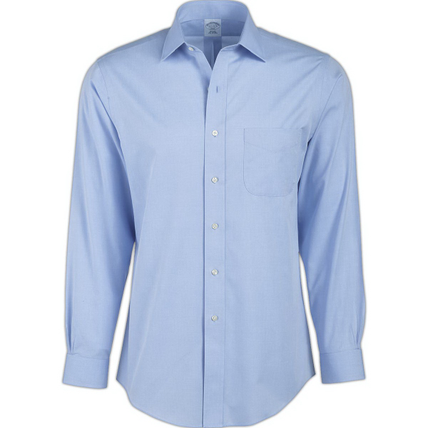 Men's Non-Iron Pinpoint Long Sleeve Dress Shirt
