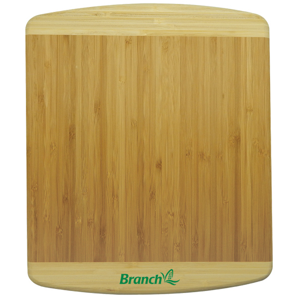 2 Tone Extra thick Bamboo Cutting Board