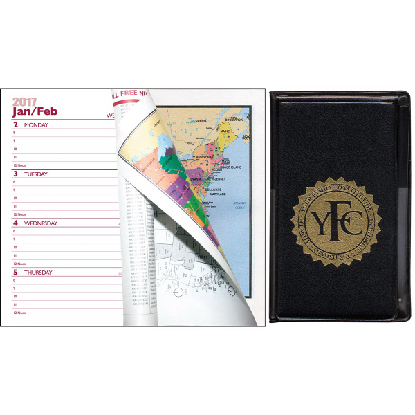 Multi-Purpose Mini-Weekly Pocket Planner with Pad and Pen
