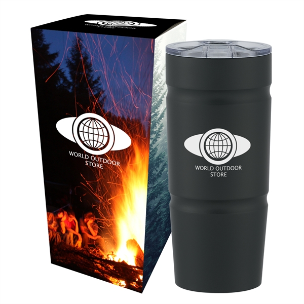 24 Oz. Stainless Steel Tumbler with Custom Box