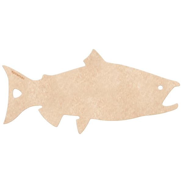Salmon Shaped Cutting Board